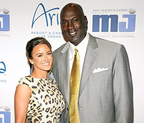 Yvette Prieto and Michael Jordan at CityCenter March 30, 2011
