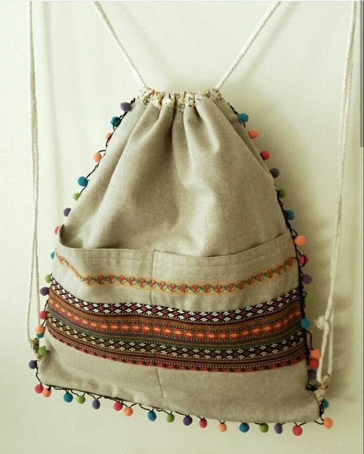Gymnastic bag, backpack, boho backpack, drawstring bag,turnbeutel , yoga bag, kilim backbag, embroidered backbag