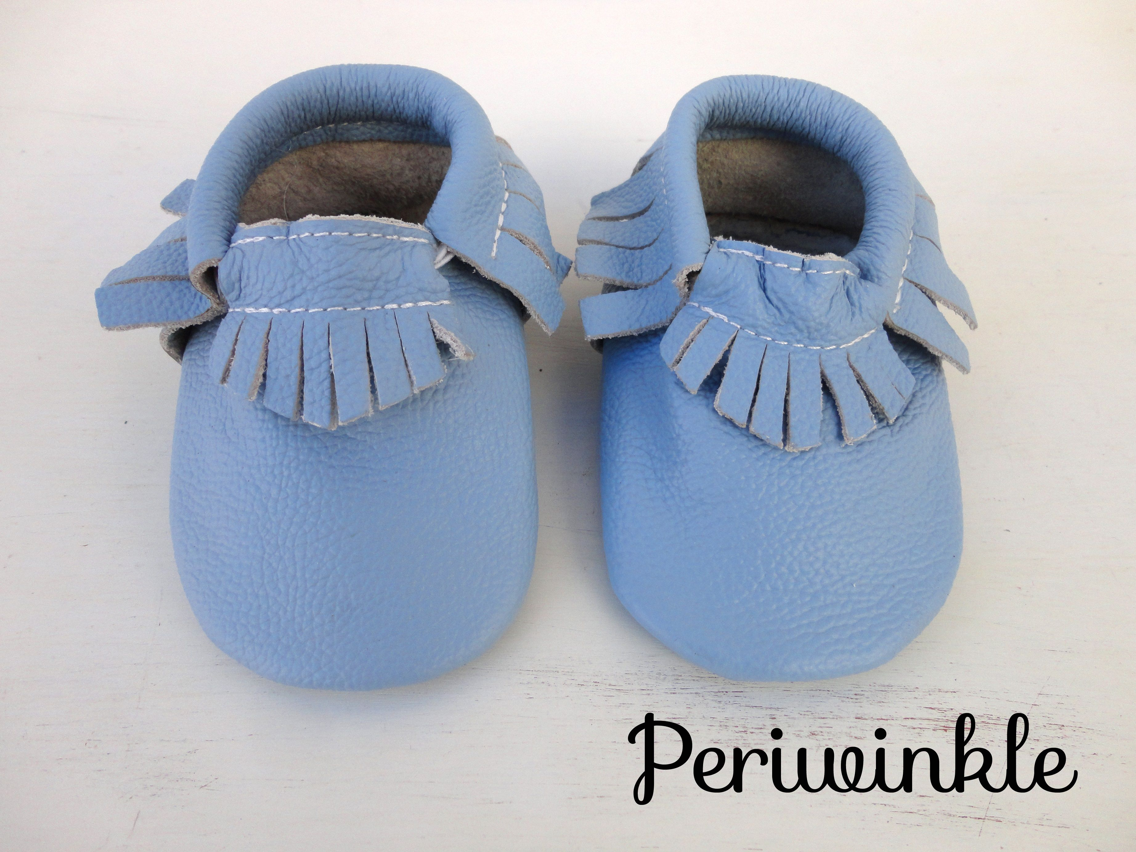 4 different colors SOFT SOLE BABY SHOES