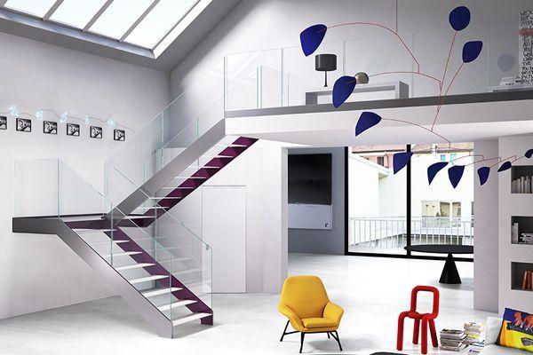 Problème de riche  quel escalier sur mesure pour mon loft ? - store pour fenetre interieur