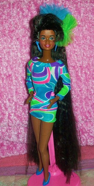 1991 Totally Hair Barbie Vintage Barbie Clothes Totally Hair Barbie Barbie Clothes