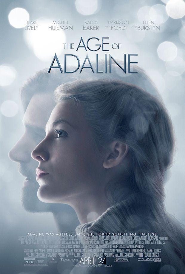 The Age Of Adeline Final Poster Posteres De Filmes Idade De