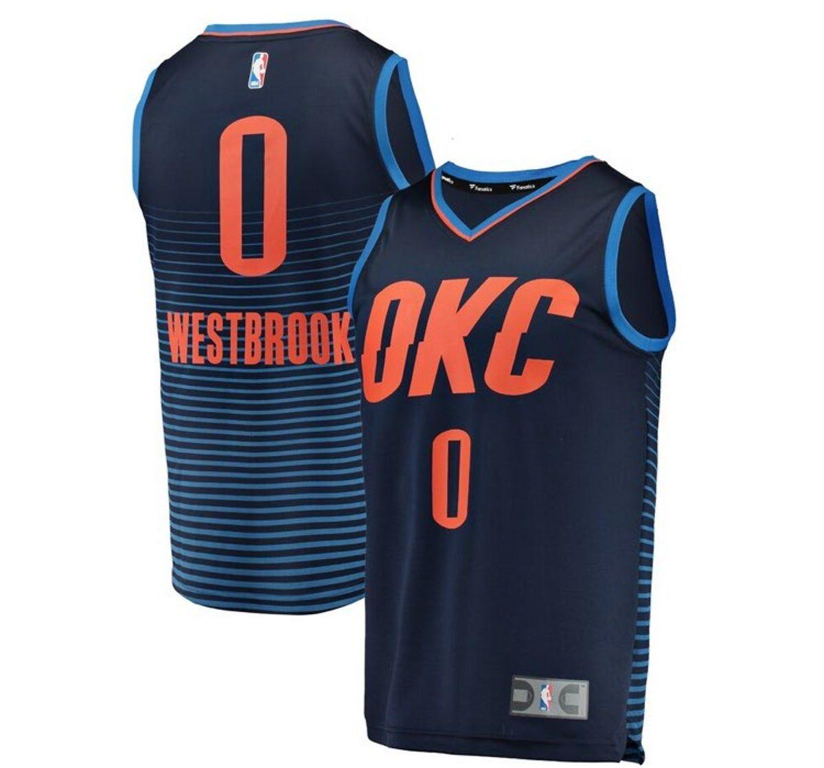 westbrook jersey