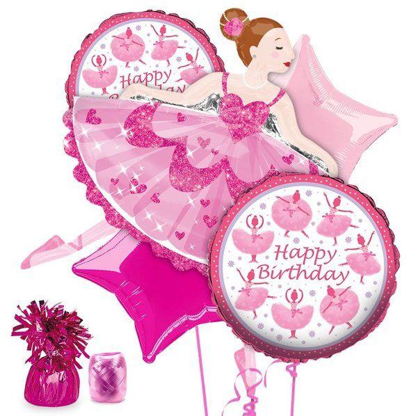Check Out Ballerina Party Balloon Kit