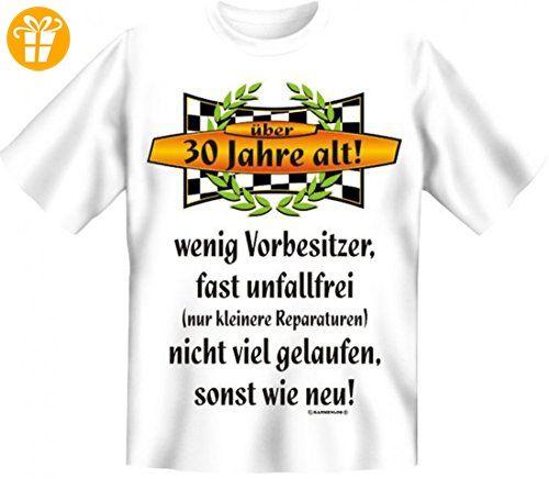 Oldtimer über 70 Jahre gelaufen Funshirt T-Shirt zum 70 Geburtstag