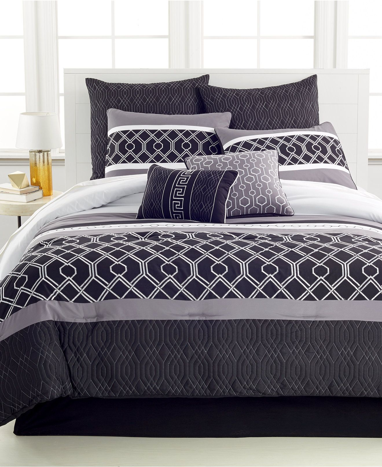 Tribeca 8-Pc. Comforter Sets
