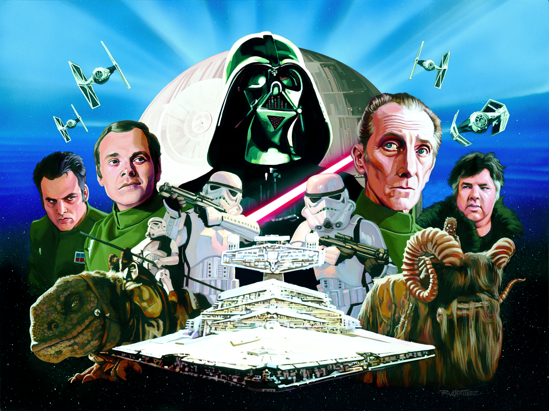 a new hope paintings | Art Focus: Official Star Wars: A New Hope (Radio Drama) CD cover