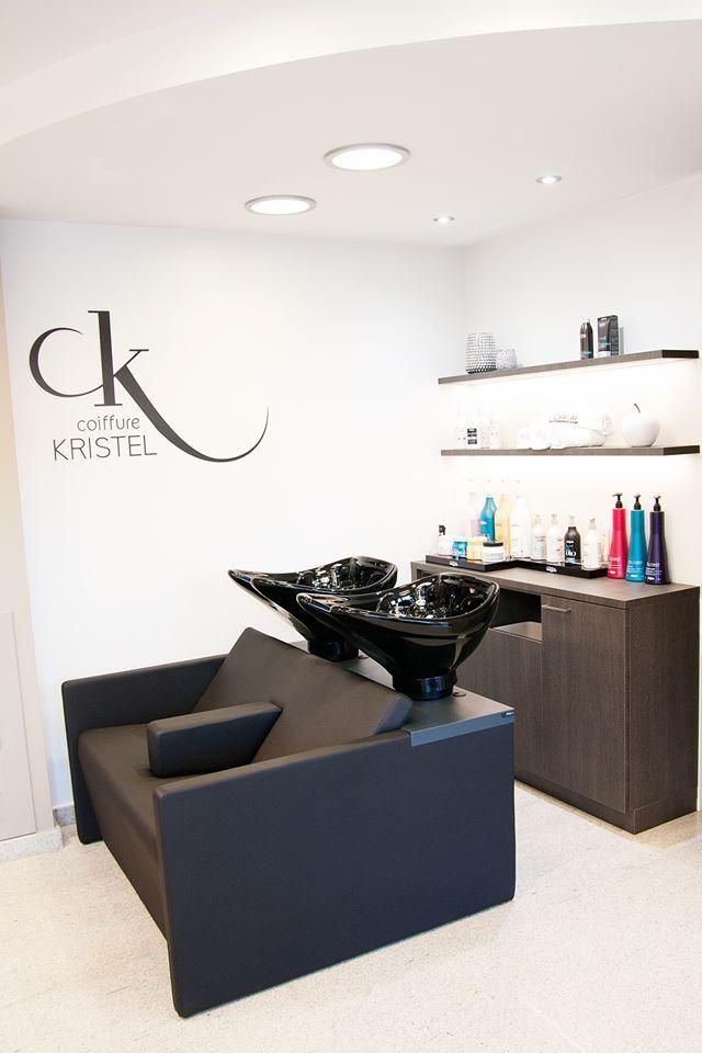 Salón Coiffure Kristel, dames- heren. en Bélgica, equipado con ...