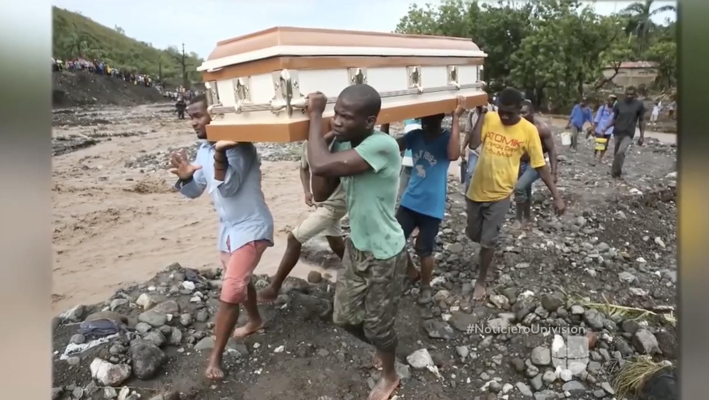 Ya consideran al huracán Matthew en Haiti como la peor crisis humanitaria desde el terremoto de 2010