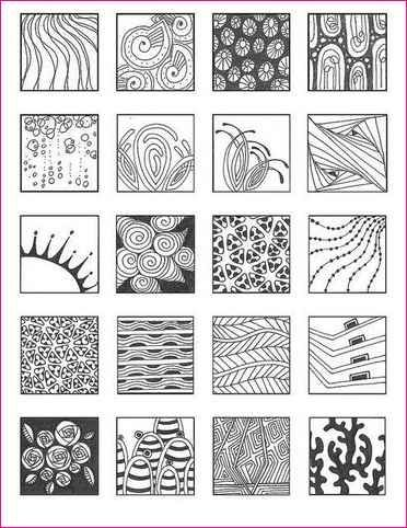 Easy patterns to draw beginners draw pinterest easy for Drawing patterns for beginners
