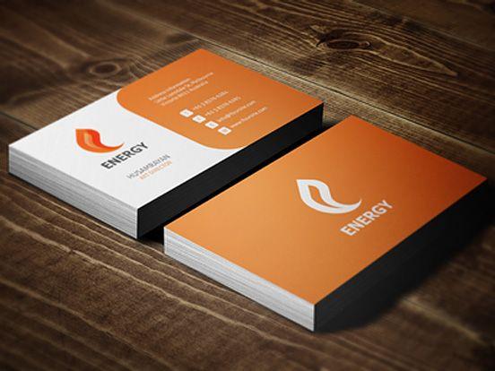 Energy Business Cards  Business Cards    Business