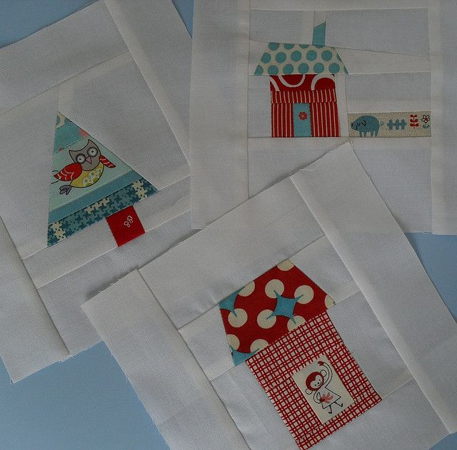Around the Block - Tiny blocks for Amy by Four Wise Monkeys, via Flickr