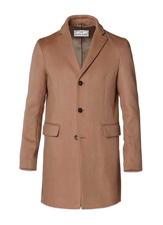 Manteau homme en drap de laine   achetez votre manteau camel  17HM3IKOM-A321 11 43d6b8c0428