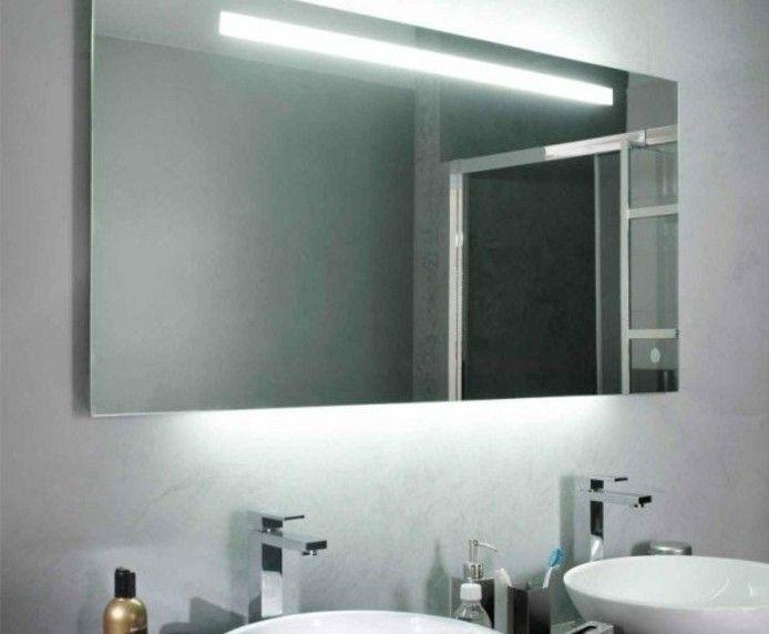 Ou Trouver Le Meilleur Miroir De Salle De Bain Avec Eclairage Archzine Fr Miroir De Salle De Bain Salle De Bain Miroir Salle De Bain
