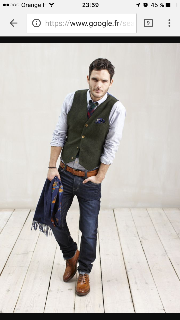 Waistcoats can act as another layer in your outfit, or another color or  even by adding a touch of pattern to your look. Waistcoats can be easily ...