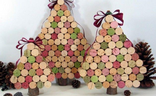 pfiffige bastelideen mit korken f r ihr stilvolles zuhause weihnachten pinterest korken. Black Bedroom Furniture Sets. Home Design Ideas