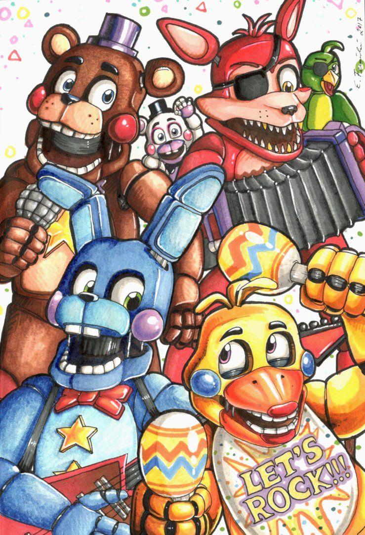 Rockstars By Thyladactyl Desenhos Assustadores Desenhos Animados