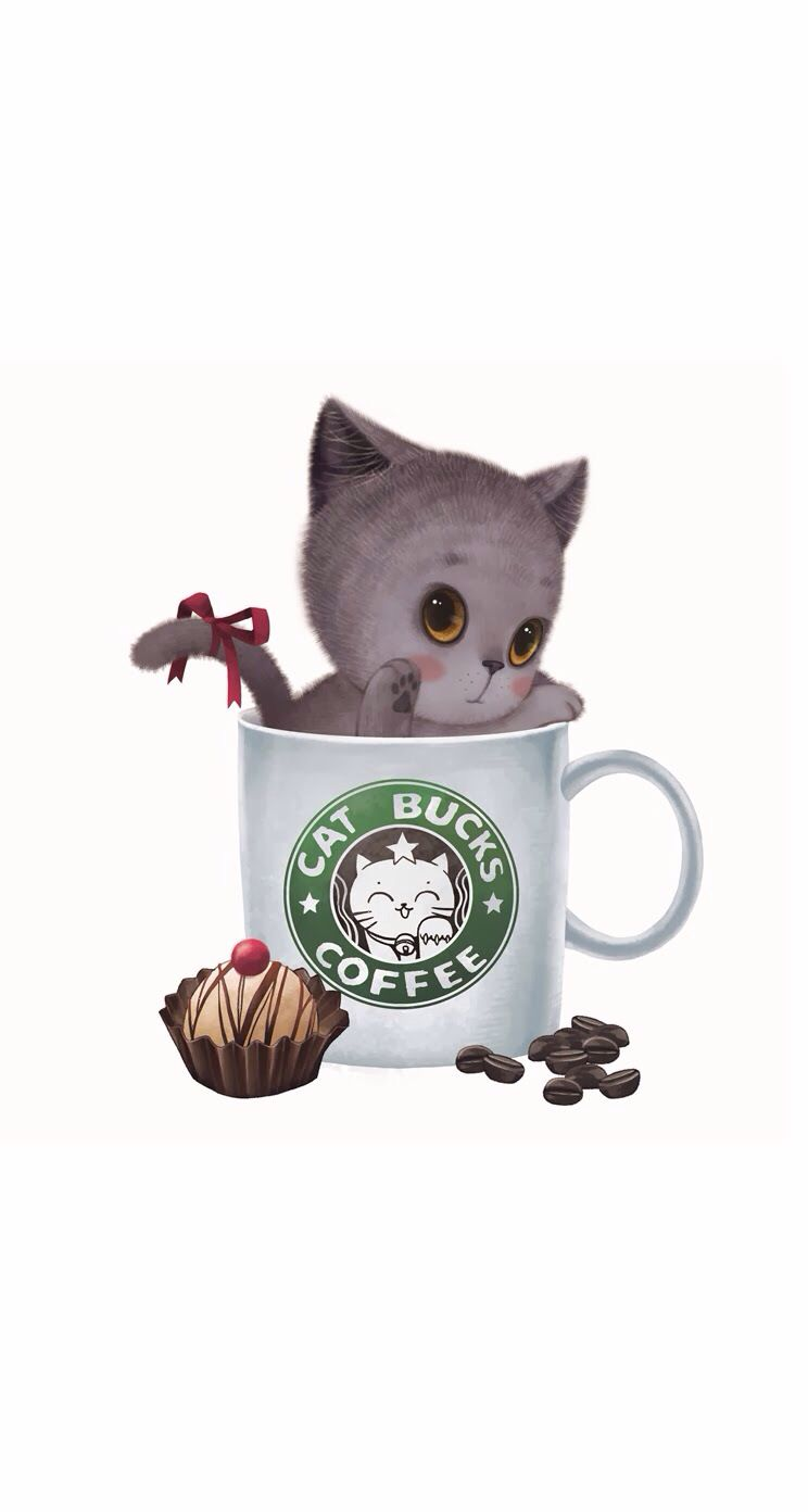 Cat CoffeeWallpapers Bucks PillowCatsCute Cats byfYg76