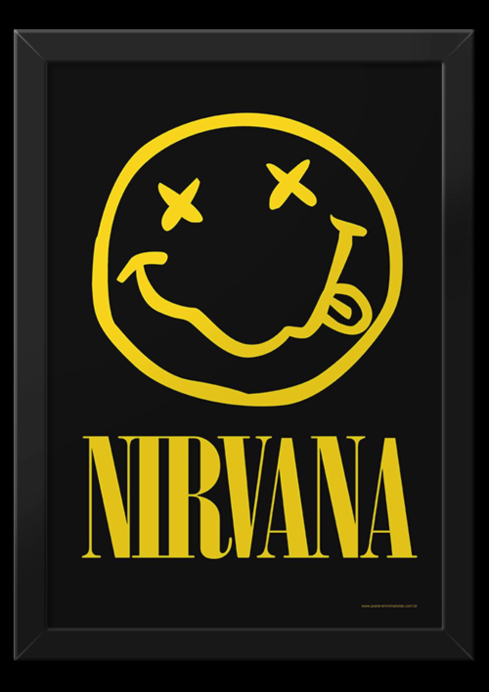 Nirvana - Música | Posters Minimalistas | $*$ VinTAGE PoStErS ...
