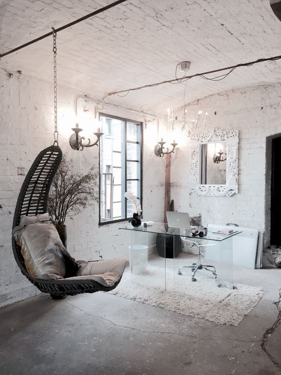 ultra minimalist office. Beautiful Office Shabby Chic Girlish Home Office With An Ultra Minimalist Glass Desk That  Seems To Be Disappearing On Ultra Minimalist Office I