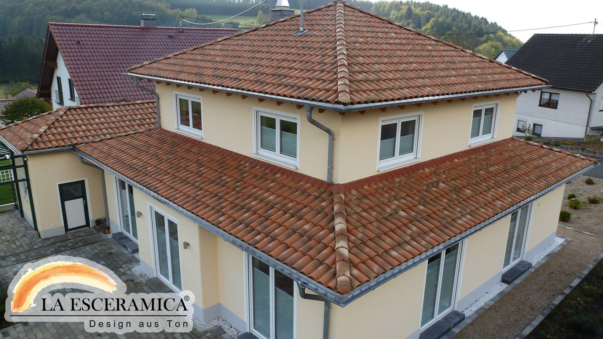 la esceramica dachziegel farbe toskana | dachziegel | pinterest - Farbe Vielli Castell
