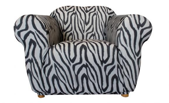 One Seater Zebra Print Sofa Cover By Sure Fit Sofa Covers Printed Sofa Sure Fit