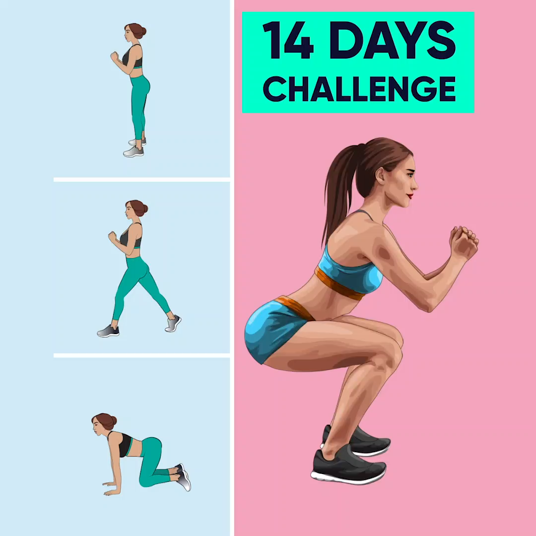 Simple rules for you to have stretching!!! Just 14 days challenge will help your body become perfect...