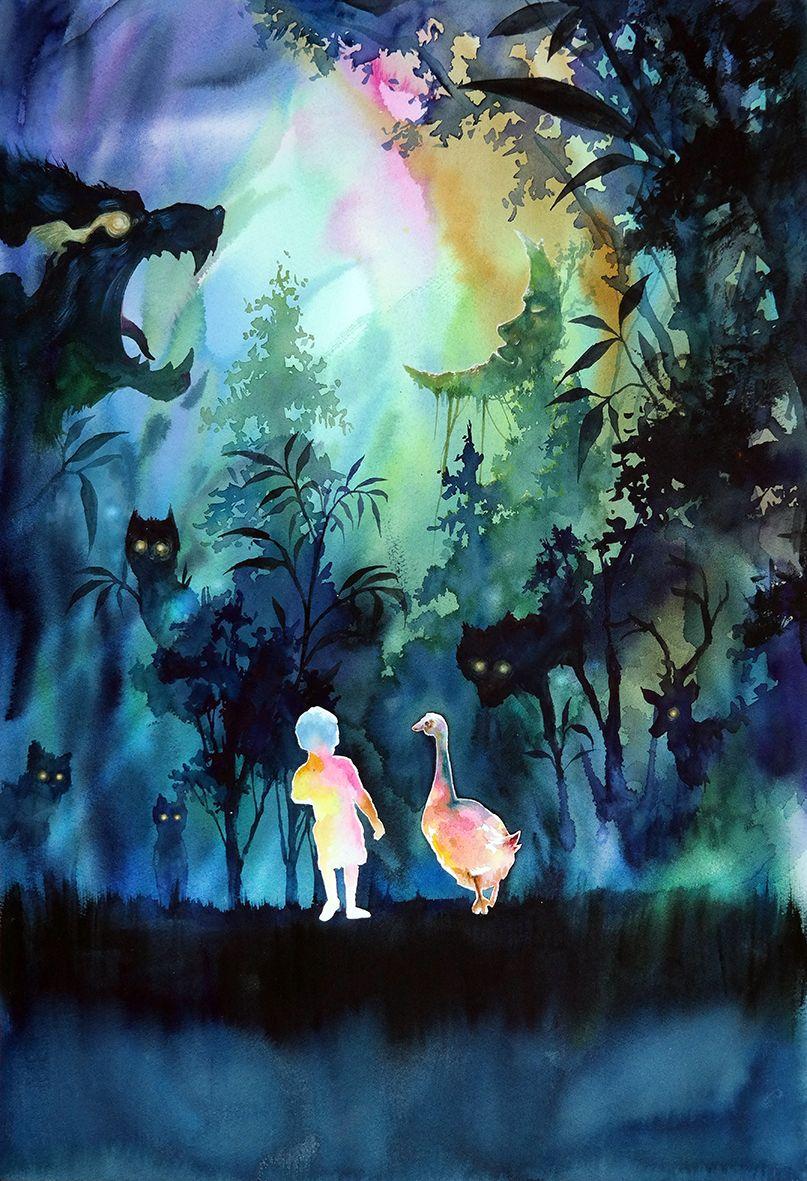 Zazac Namoo Deep Forest 3 Peinture Et Imaginaire