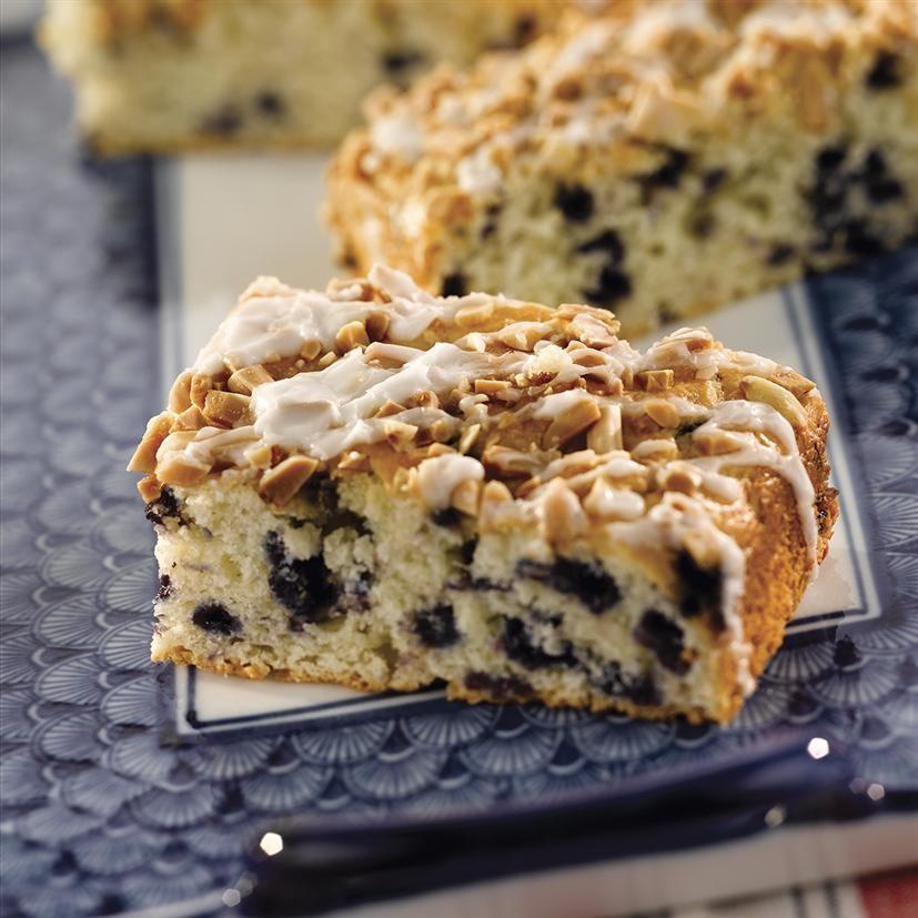 Blueberry almond coffee cake recipe coffee cake how