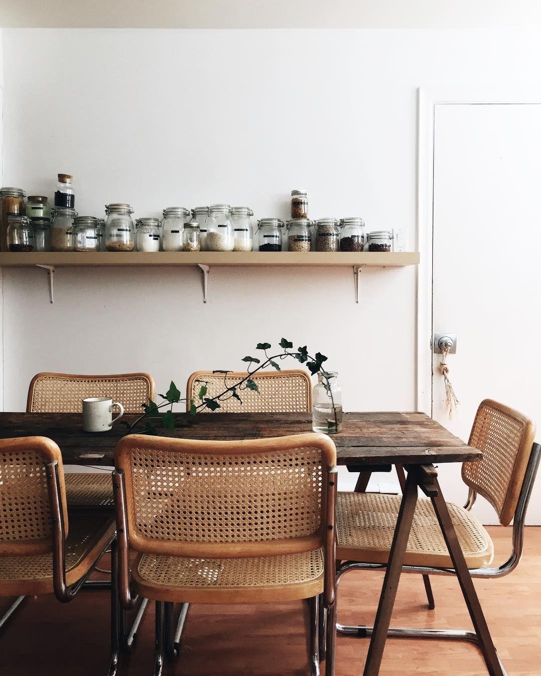 Home interior design dining room pin by charlotte houzet on home kitchen  pinterest  marcel breuer