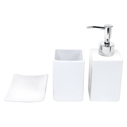 Found It At Wayfair Osseo 3 Piece Bathroom Accessory Set Contemporary Bathroom Accessories Bathroom Accessories Bathroom Accessories Sets