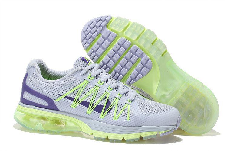 Womens Nike Air Max Excellerate 3 Volt Purple White  d9d73cb8e1