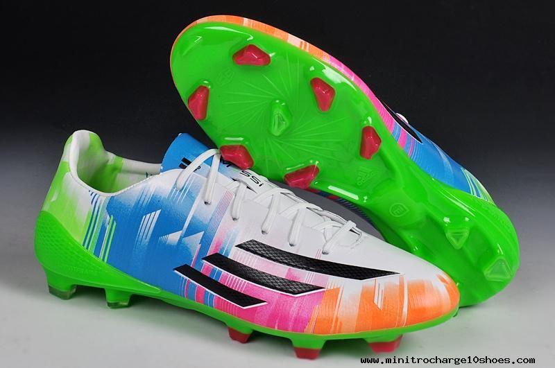 Adidas F50 Adizero Colourful World Cup 2014 Leo Messi Future Signature For Sale Nike Soccer Shoes Soccer Cleats Nike Adidas Soccer Shoes