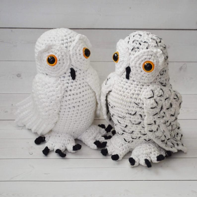 Crochet Owl Family Amigurumi Pattern - Repeat Crafter Me | 794x794