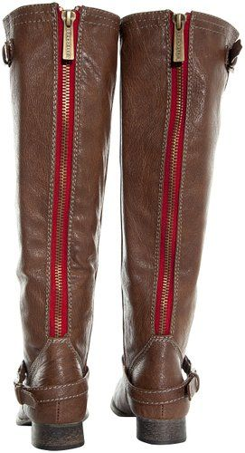 0ee7d0be14e A cute pair of red zipper boots from Breckelles...   Boots For Women ...