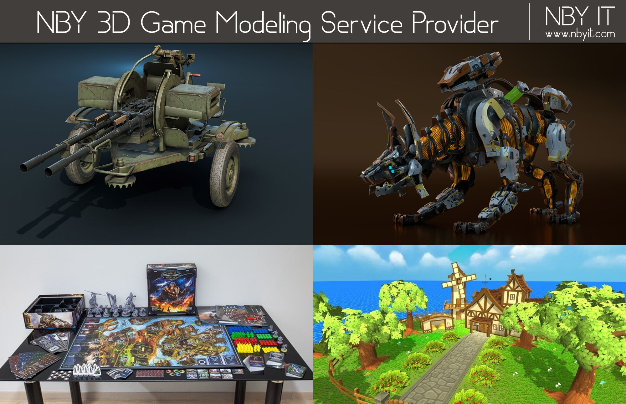 Pin by Nby ITsolution on 3D Game Modeling 3d games