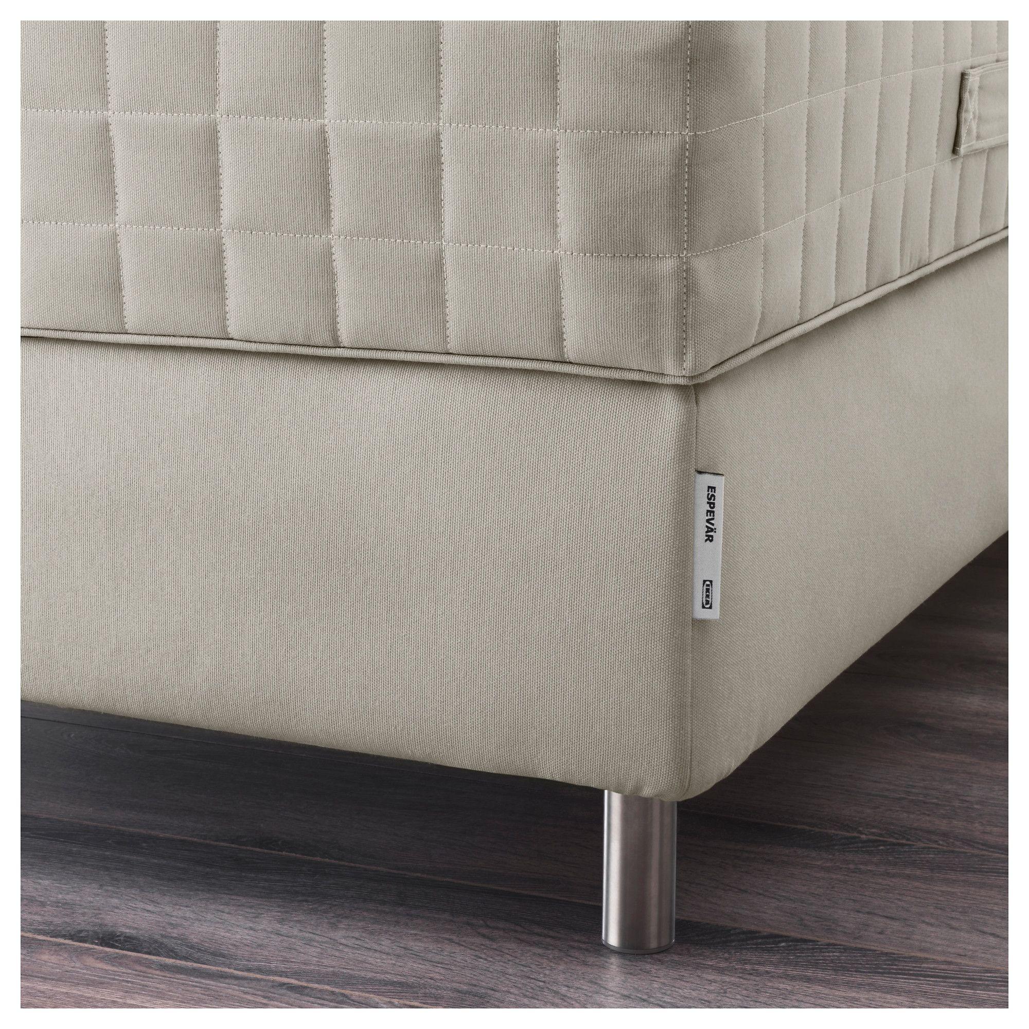 ikea espeva r slatted mattress base for bed frame beige