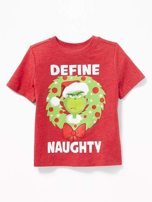 9f748cbd2eb3 Old Navy Dr. Seuss  The Grinch Define Naughty Tee for Toddler Boys ...