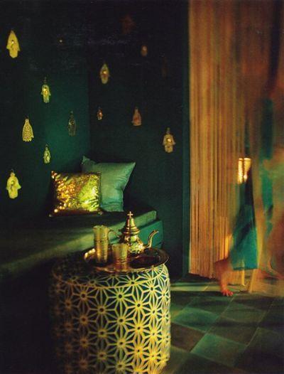 Mystic Morocco. Elle Decoration, July 2007. Photo by Oof Verschuren