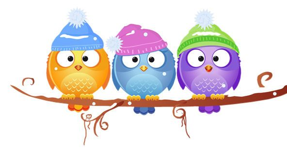 Pin By Dominique Aimelab On Chouettes Winter Owl Owl Cartoon Christmas Owls