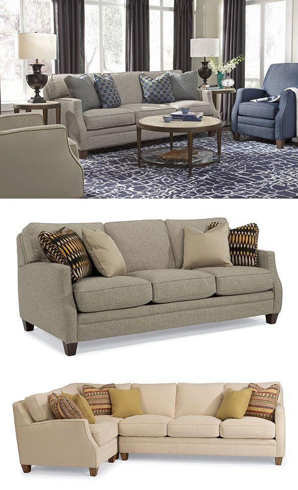 Lennox Sofa By Flexsteel Sofas We Love Furniture