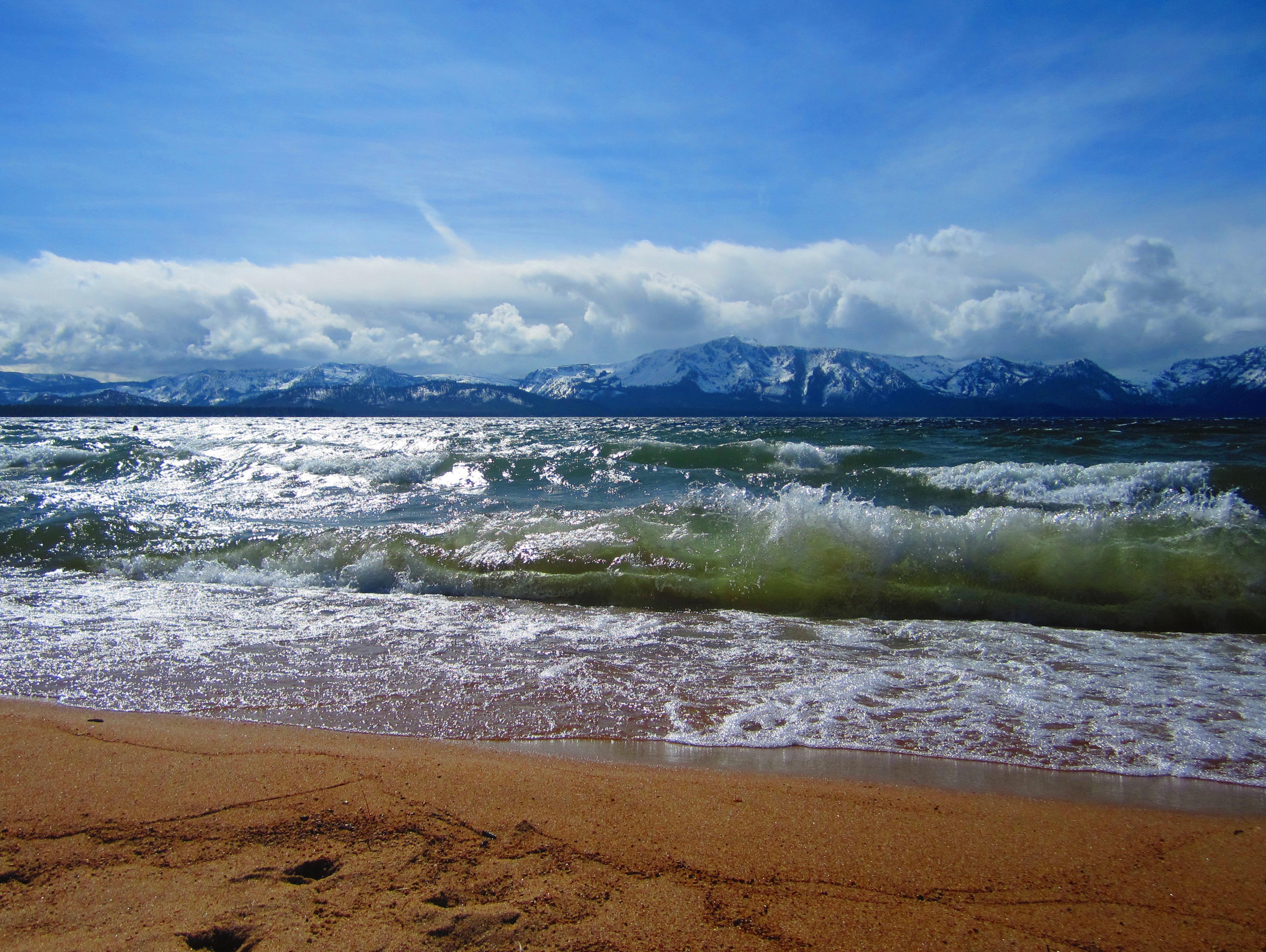 Windy Day In May From Nevada Beach Photo Lmalcom Www Buckinghamtaentals
