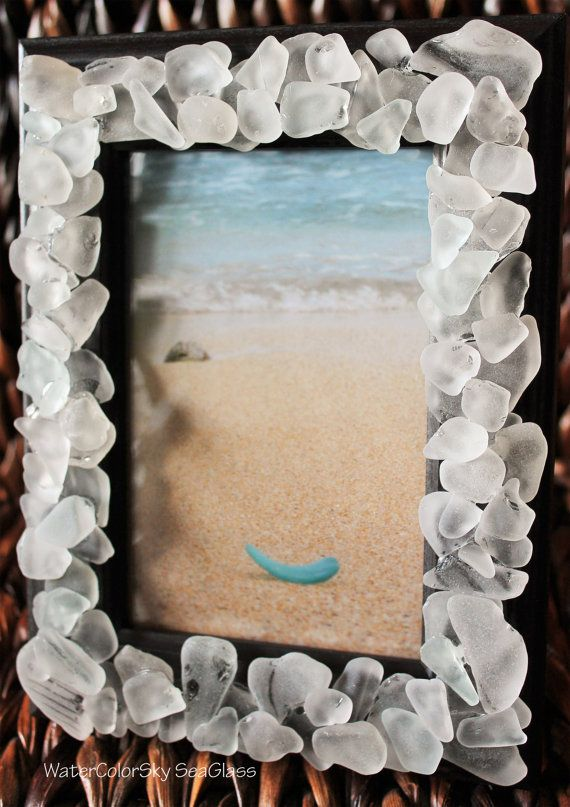 This Amazing Picture Frame Is Decorated With Tumbling Glowing Hawaii