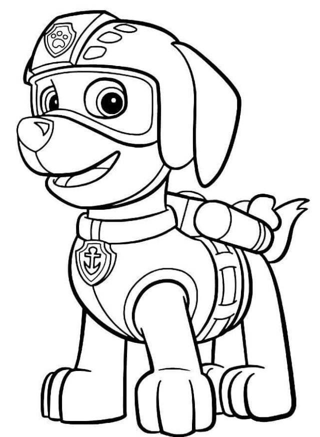 Top 10 PAW Patrol Coloring Pages | Free Coloring Pages For Kids ...