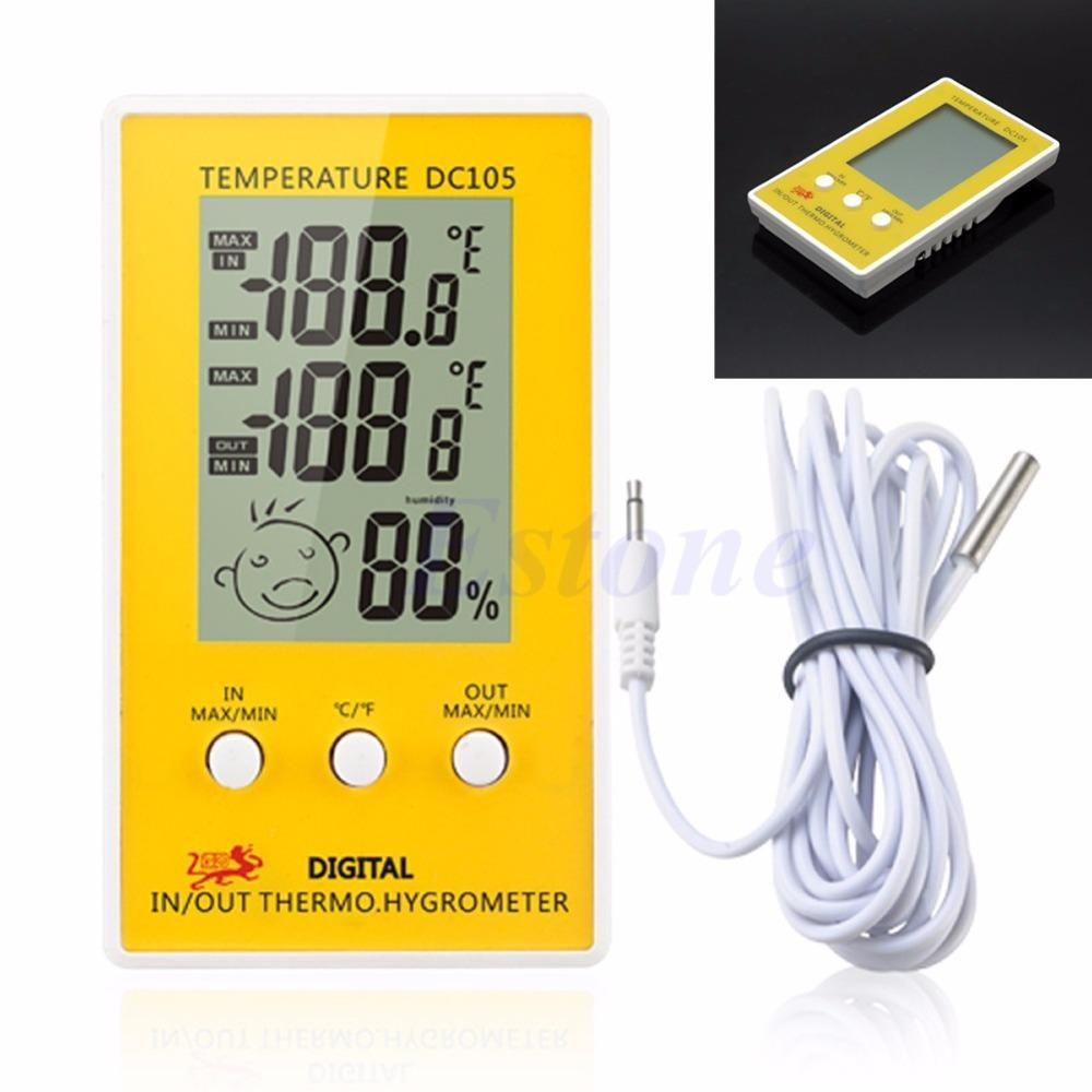 TAYLOR 1733 Indoor//outdoor Digital Themometer with Barometer /& Timer