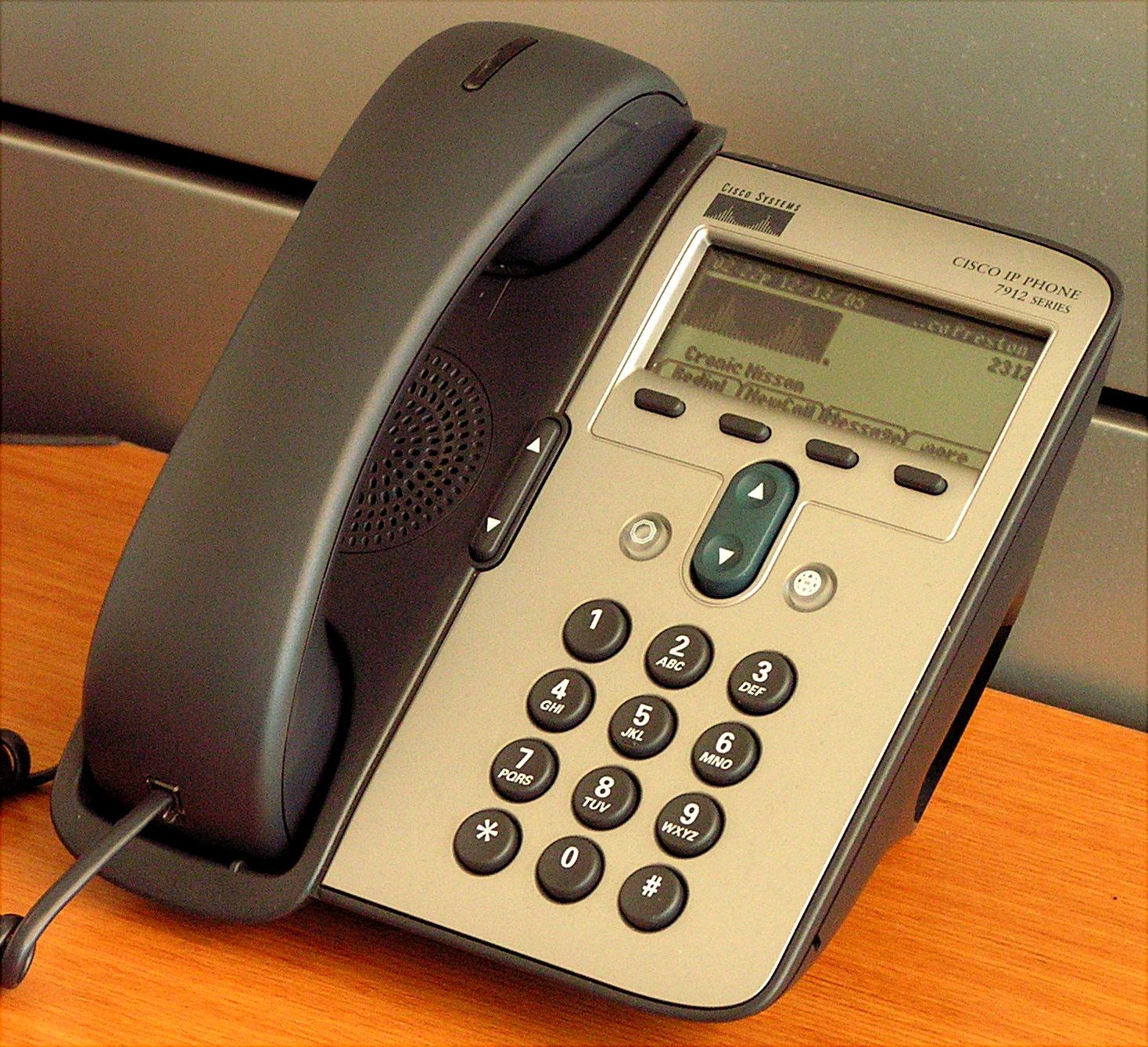 PSAP (Public Safety Answering Point) IP Telephone set