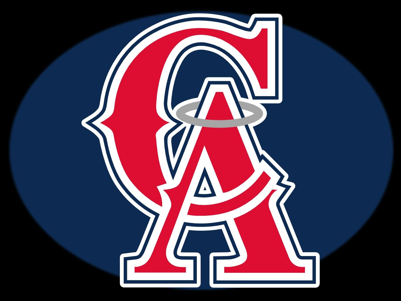 La Angels Logo Los Angeles Angels Of Anaheim