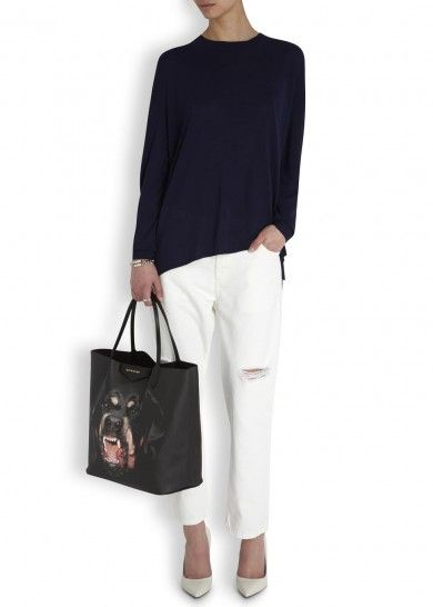 Antigona black rottweiler canvas tote   +puppy trifles   Pinterest ... 940bad8c55