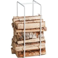 Photo of Mixrack magazine rack and firewood shelf M white