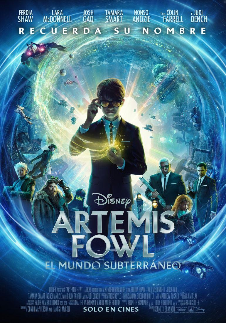 Artemis Fowl Ya Tiene Fecha De Estreno En Perú Artemis Fowl Películas Completas Gratis Películas De Aventuras